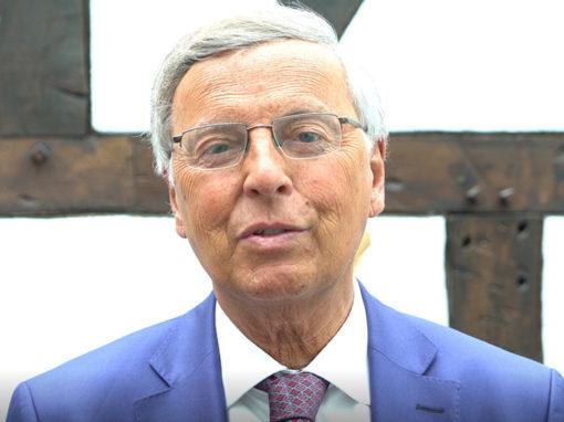 Wolfgang Bosbach, CDU Experte für innere Sicherheit